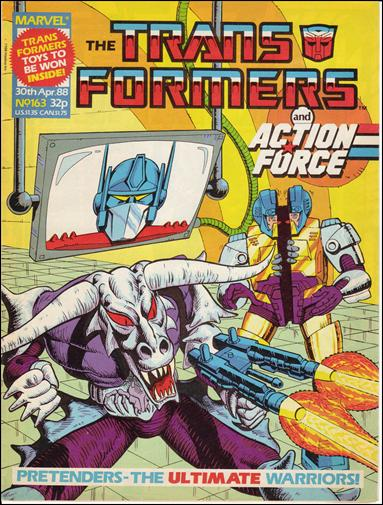 Transformers (UK) 163-A by Marvel UK