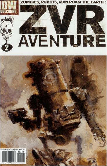 Zombies vs Robots Aventure 2-A by IDW