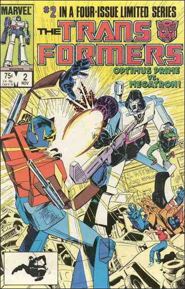 Transformers (1984) 2-A by Marvel