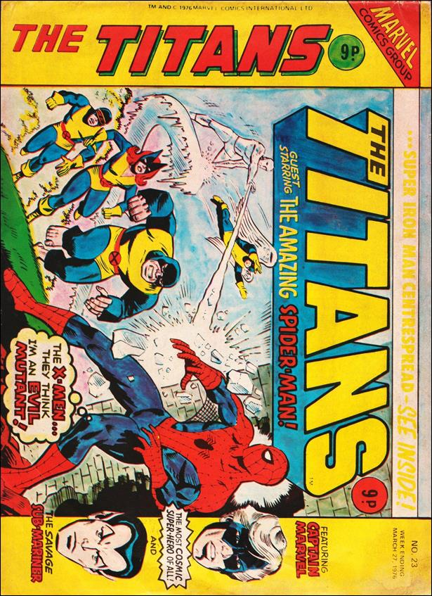 Titans (UK) 23-A by Marvel UK