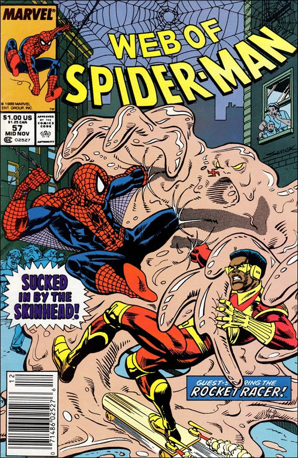Web of Spider-Man (1985) 57-A by Marvel