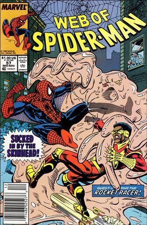 Web of Spider-Man (1985) 57-A