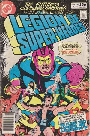 Legion of Super-Heroes (1980) 262-B