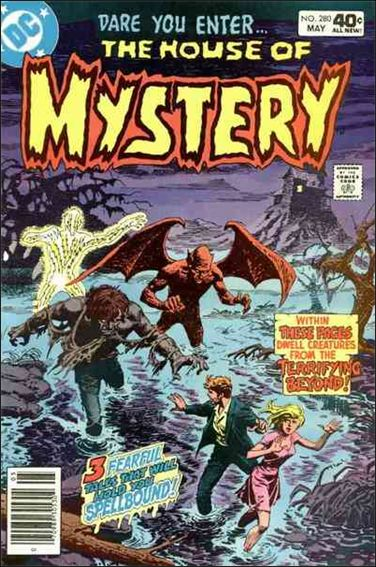 House of Mystery (1951) 280-A by DC