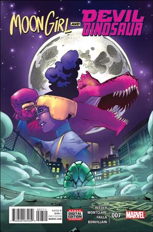 Moon Girl and Devil Dinosaur 7-A