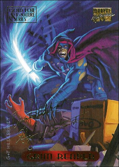 1994 Marvel Masterpieces (Gold-Foil Signature Parallel Base Set) 46-A by Fleer