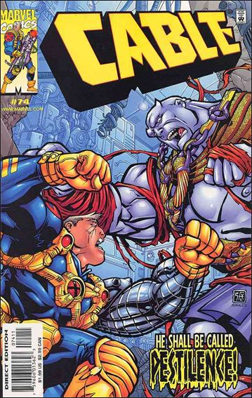 Cable (1993) 74-A by Marvel