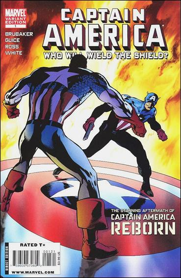 Captain America Reborn: Who Will Wield the Shield? 1-B by Marvel