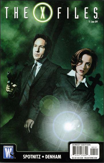 X-Files (2008) 1-B by WildStorm