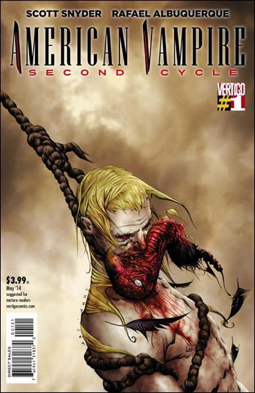 American Vampire: Second Cycle 1-B by Vertigo