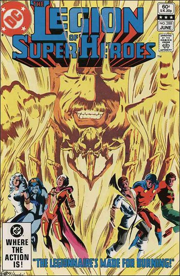 Legion of Super-Heroes (1980) 288-A by DC
