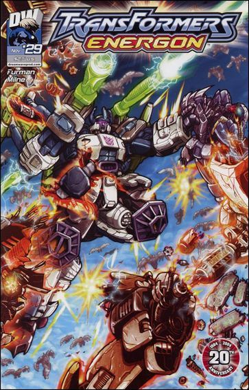 Transformers: Energon 29-A by Dreamwave