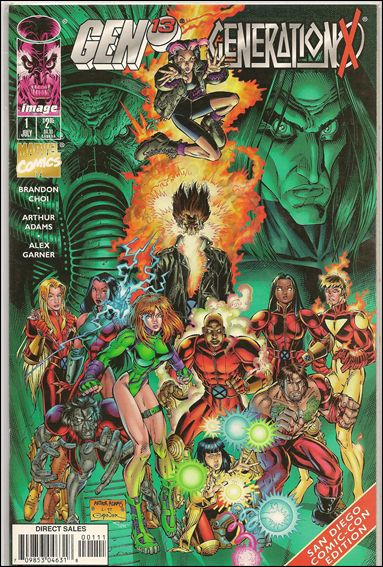 Gen13/Generation X 1-D by Image