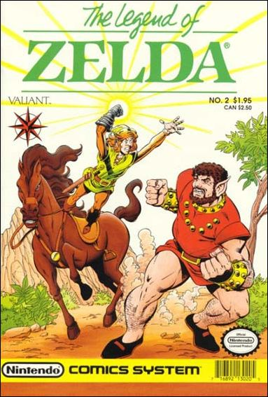 The Legend of Zelda (1990) 2-A by Valiant