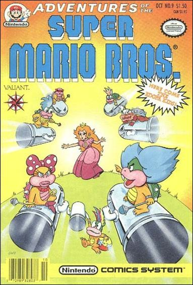 Adventures of the Super Mario Bros. 9-A by Valiant