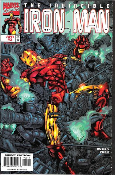 Iron Man (1998) 3-A by Marvel