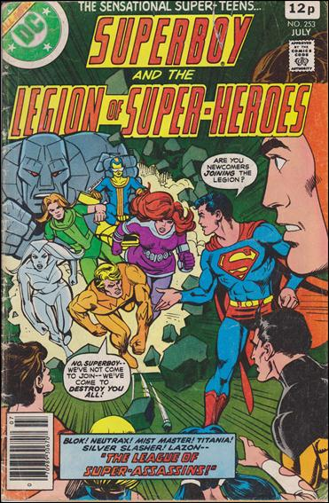 Superboy and the Legion of Super-Heroes 253-C by DC