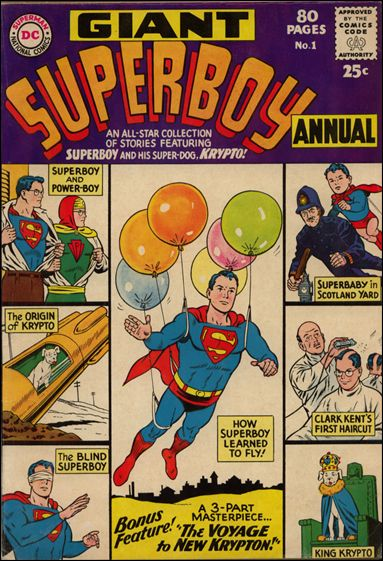 Superboy Annual (1964) 1-A by DC
