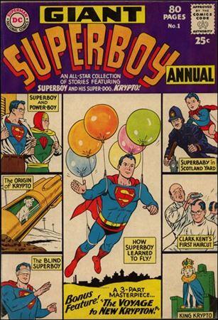 Superboy Annual (1964) 1-A