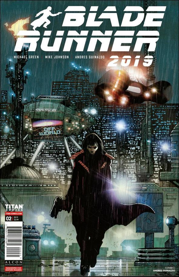 Blade Runner 2019 2-C by Titan