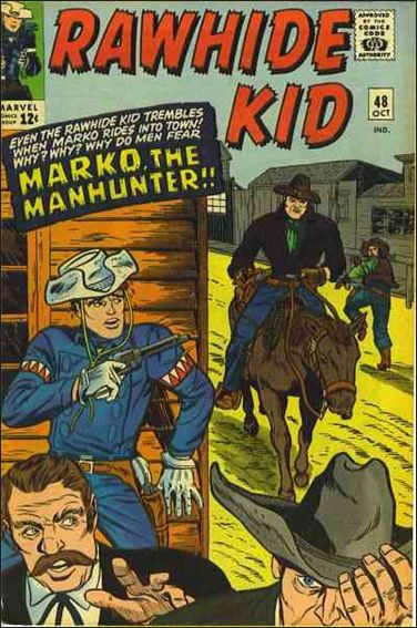 Rawhide Kid (1955) 48-A by Marvel