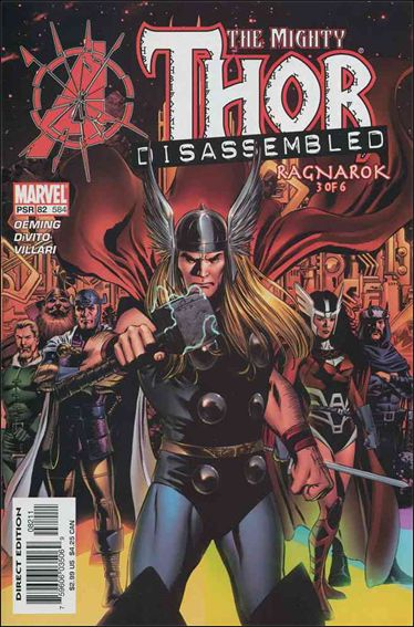 Thor (1998) 82-A by Marvel