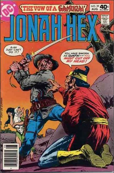 Jonah Hex (1977) 39-A by DC