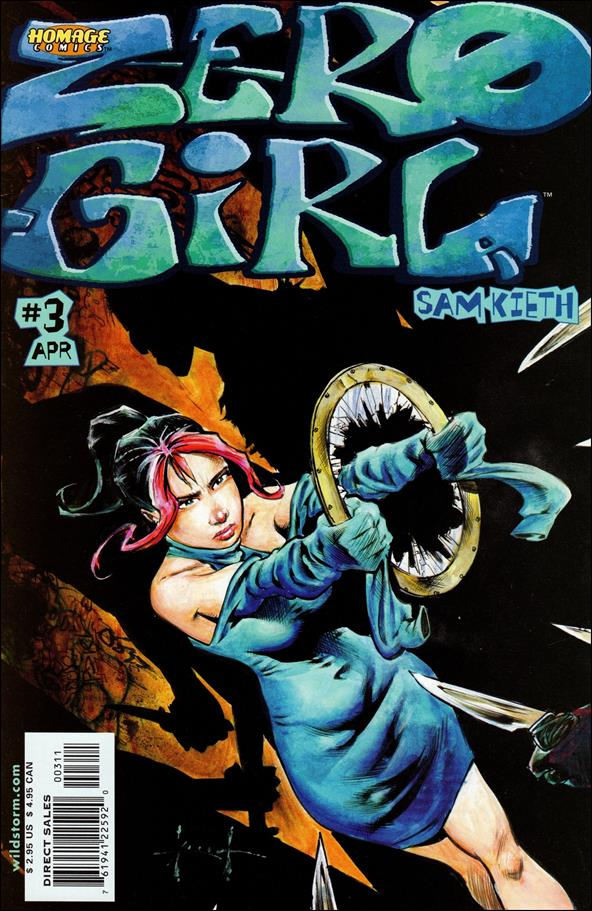 Zero Girl 3-A by Homage Comics