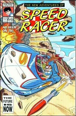 New Adventures of Speed Racer 2-A by Now Comics