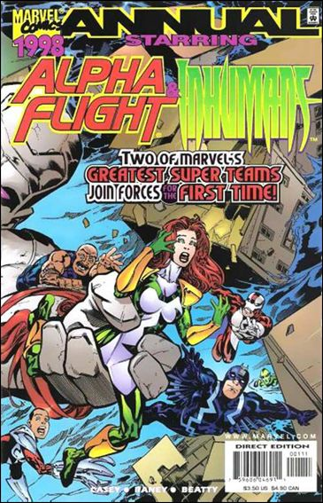 Alpha Flight/Inhumans '98-A by Marvel