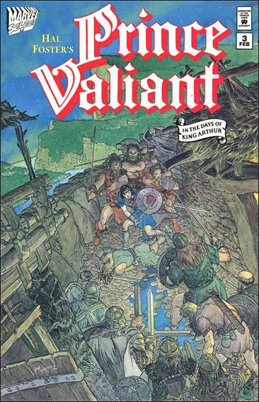 Prince Valiant (1994) 3-A by Marvel