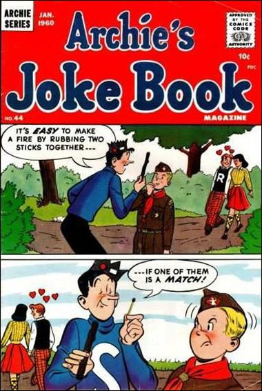 Archie's Jokebook Magazine 44-A by Archie