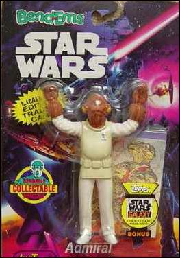 Star Wars: Bend-Ems Admiral Ackbar by Just Toys