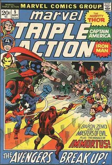 Marvel Triple Action (1972) 5-A by Marvel