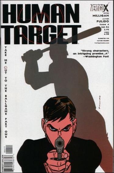 Human Target (2003) 4-A by Vertigo