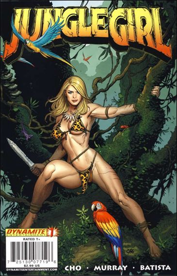 Jungle Girl (2007) 1-A by Dynamite Entertainment