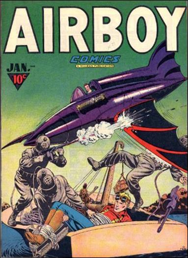 Airboy Comics (1947) 12-A by Hillman