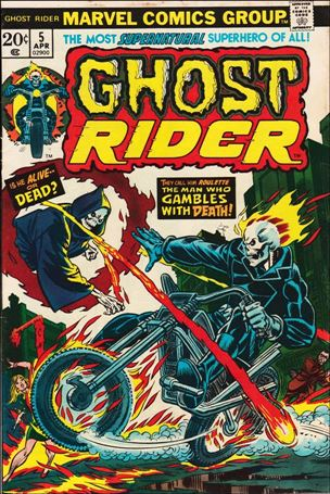 Ghost Rider (1973) 5-A