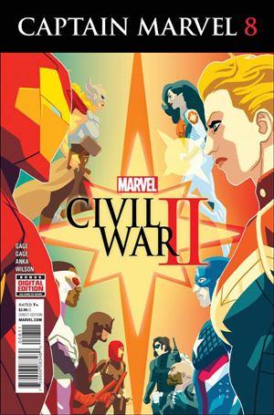 Captain Marvel (2016) 8-A