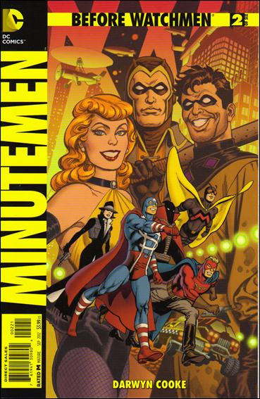 Before Watchmen: Minutemen 2-D by DC