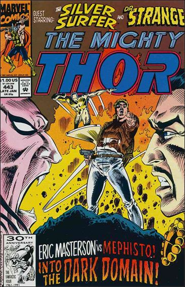 Thor (1966) 443-A by Marvel