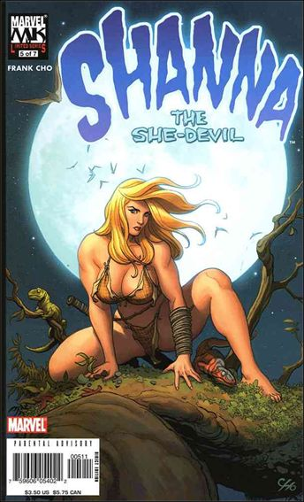 Shanna the She-Devil (2005) 5-A by Marvel
