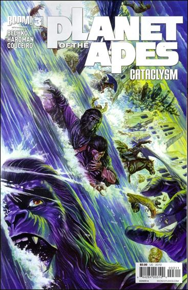 Planet of the Apes: Cataclysm 3-A by Boom! Studios