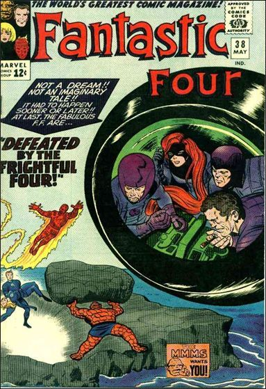 Fantastic Four (1961) 38-A by Marvel