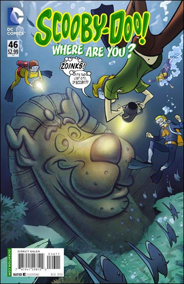 Scooby-Doo, Where Are You? (2010) 46-A by DC