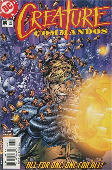Creature Commandos 8-A by DC