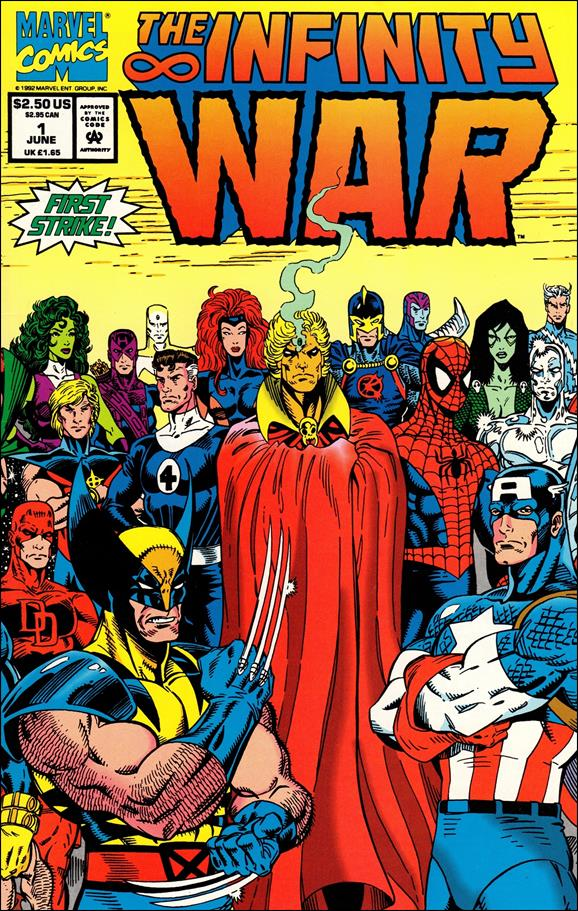 Infinity War 1-A by Marvel