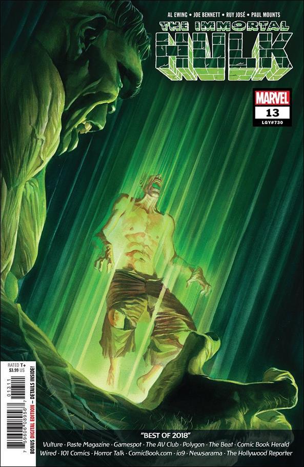 Immortal Hulk 13-A by Marvel