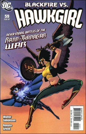 Hawkgirl 59-A by DC