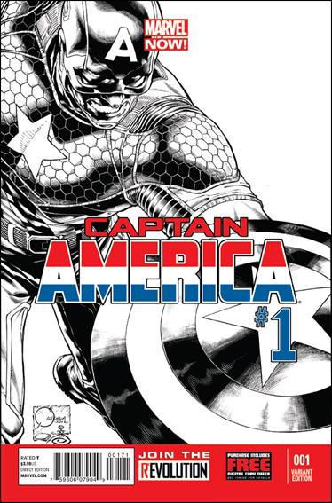 Captain America (2013) 1-E by Marvel